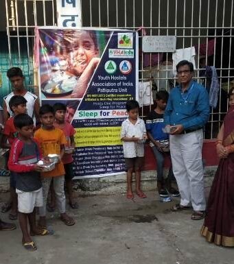Distribution of nutritious food